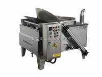 electric peanut frying machine semi automatic deep fryer for peanuts