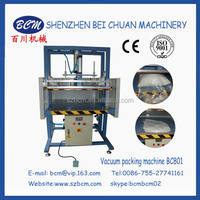 Automatic pillow packing machine for wet towel/ touch screen