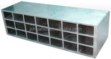 Latest design of stainless steel luxury shoe cabinet metal shoe cabinet