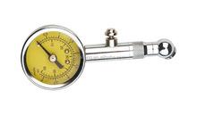 Mini dial type straight chuck car tire pressure gauge