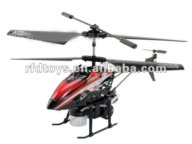 INFRARED 3.5 CHANNEL BUBBLE RC HELICOPTER(BLUE,RED)