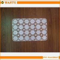 2015 New product Fucun Shentangwu PVC placemat
