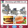 Carne automático vegetal veggie linha de produção de hambúrguer halal