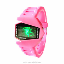 watch airplane movie online free LED silicone watch