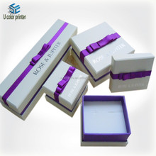 2015 custom design jewelry box set for ring,necklace,bracelet