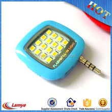 New Design Products for 2016 Rechargeable Led Flashlight for Mobile Phone Camera , Selfie Flash Led Light 16 Bright Light Bulbs