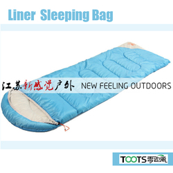 High Quality Bright Color Hooded Adult Sleeping Bags for Summer Vacation 190+30*75cm 1.4kg