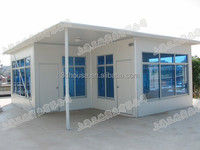 Modern economical sandwich panel prefab shipping container homes for sale