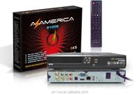 2015 high quality Original Azamerica s1008 hd decoder IKS+SKS +IPTV Az america s1008 61W Amazonas