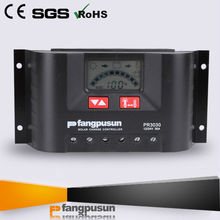 CE solar panel controller 12v 30a battery charger