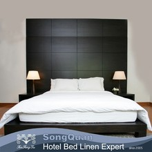 Popular good hotel cotton bed sheet sets factory(SQJC150062)