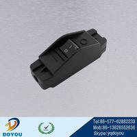 China/USA/Europe screw fitting PA material push button type lighting switch