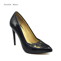 patent leather women high heel shoes for wholesale