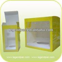 High Quality Custom Desgin Printed Rid Cardboard Candle Paper Box, Candle Packaging Paper Box