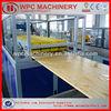 wood plastic laminated wpc door panel machine