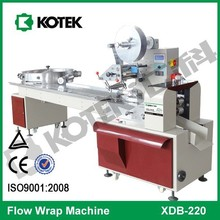 Horizontal Flow Back Seal Chocolate Candy Wrapping Machine