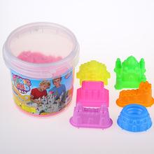 Popular world architectur model magic sand children space toy sand castle model accessories sand