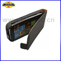 for Google Nexus 4 Case Black Magnetic Slim Leather Flip Case,For LG Nexus 4 Case