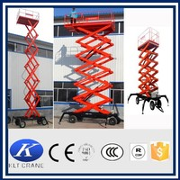 Hydrualic mobile scisssor mechanical lifting devices