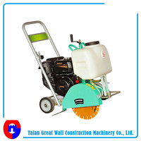 Portable concrete floor saw /road cutting saw machine with HONDA engine