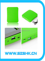 CE ROHS be supported big capacity popular 5v panel battery power 2600 mA modern portable solar panel charger battery power