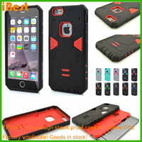 OEM cases for brand new products premium pc+tpu case cell phone for iphone6s , material case