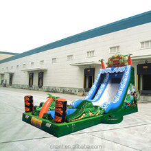 two lanes inflatable slides Miami