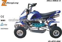 CE certification kawasaki 50cc atv quad