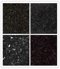 Hot sale dark black granite