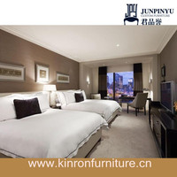 2015 Latest Design Modern Style Wooden Hotel Bedroom Set Furniture for Sale JPY-Yvo-041502
