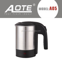 500ml mini stainless steel electric travel kettle