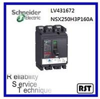 Compact NSX250H3P160A LV431672 Merlin Gerin Schneider MCCB Molded Case Circuit Breaker