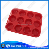 12 Holes Silicone Cake Mold Pastry Tool