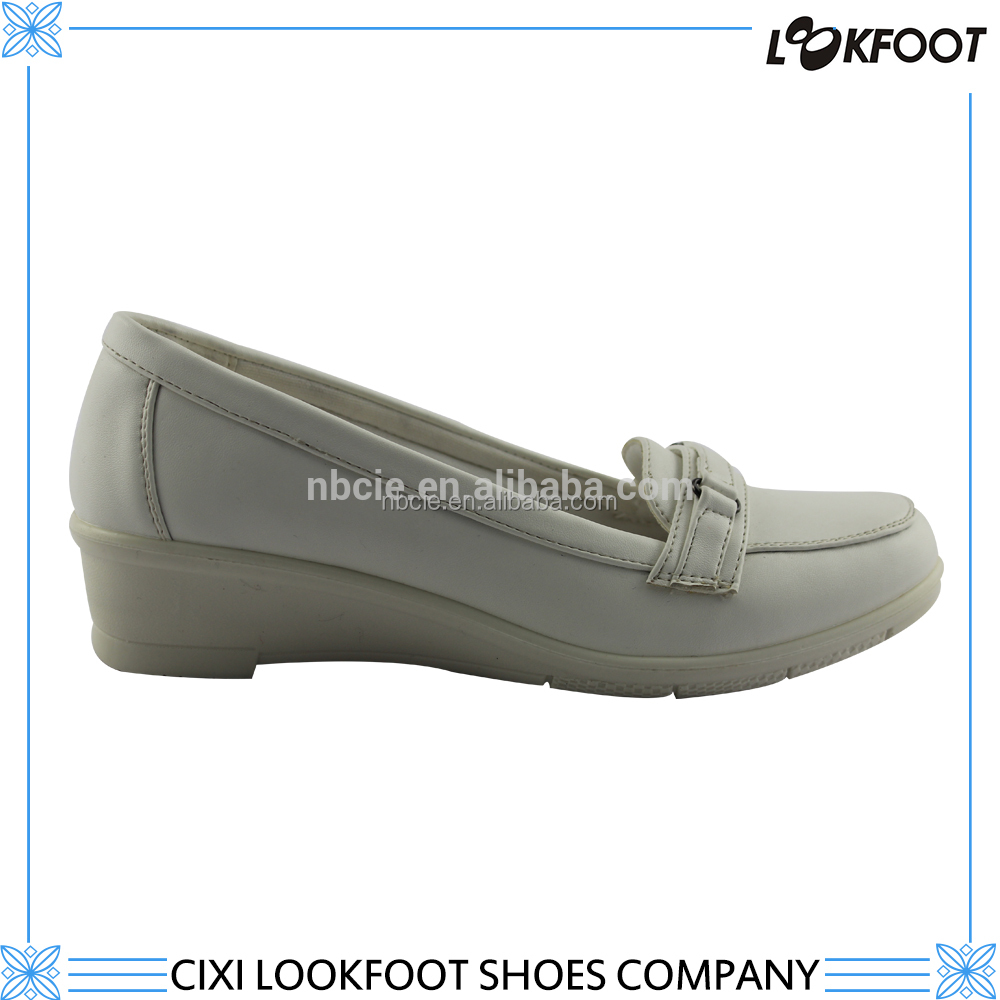 comfortable pu injection shoes high quality blank