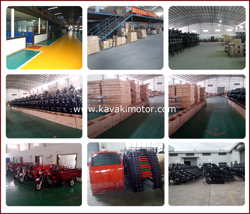 Guangzhou KAVAKI MOTOR www.kavakimotor.com Factory Outlet Three Wheelers Cargo Box Motorcycle For Farm