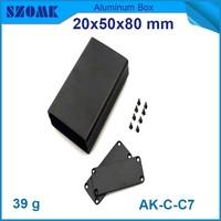 custom aluminium distribution enclosure powder case for power supply box