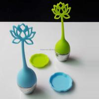 opp bag Food grade eco-friendly BPA free flower shape lotus vodka water infuser