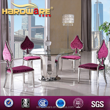 fair price furniture store dining room table round tempered glass dining table sets