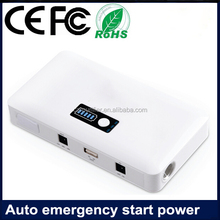 Functional fast-charge USB port new easy Battery jump power jumpstart 12 volt cars
