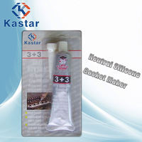 Kater strong adhesion rtv silicone sealant clear for air cpmpressor