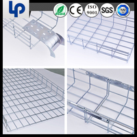 2015 good and cheap hdg metal gi galvanized steel cable basket price(CE ROHS UL TUV SGS cable certificated)