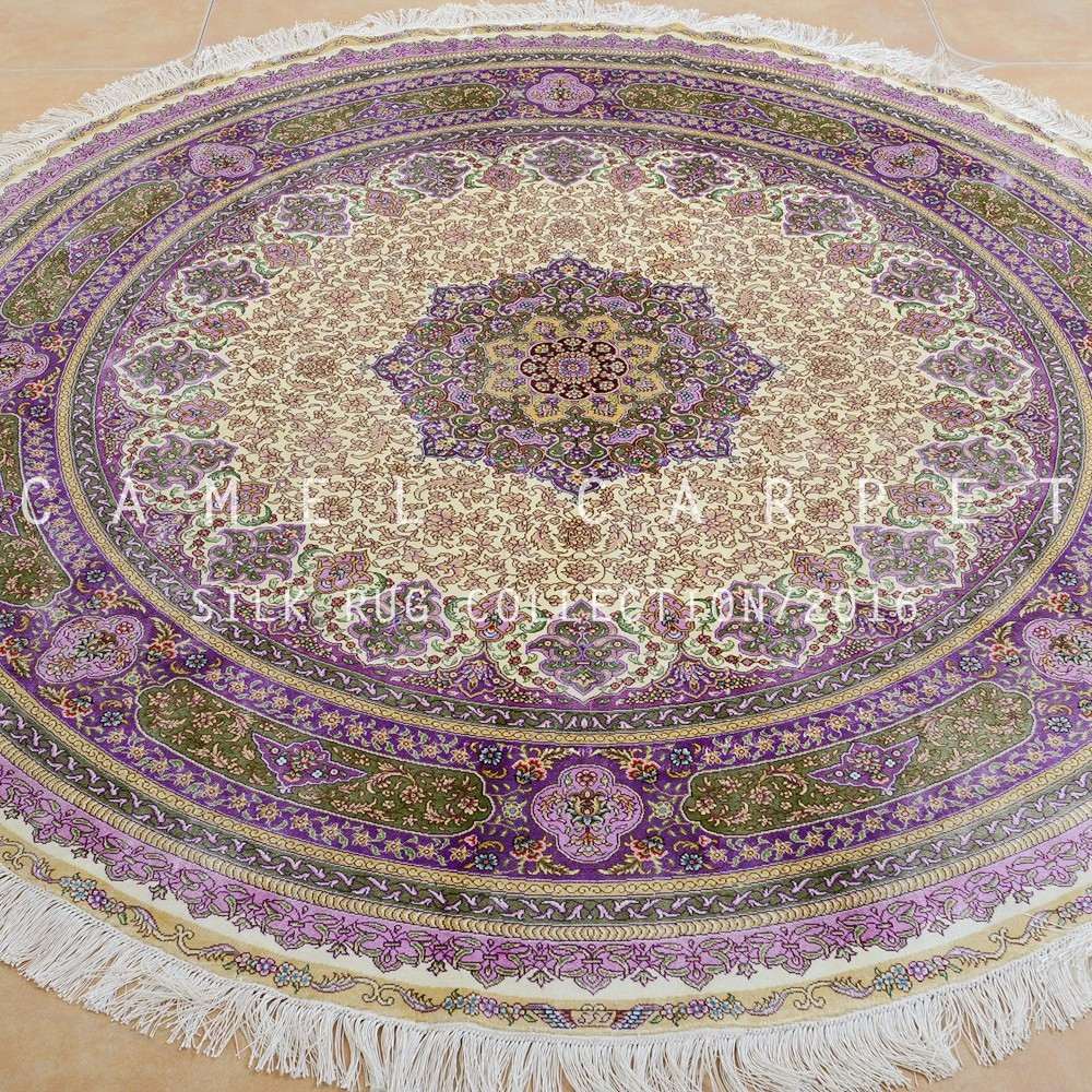 Alfombras redondas modernas affordable alfombra moderna for Alfombras persas redondas