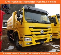 Sinotruck 371HP Dumper Howo Brand Front Lifting Dump Truck 30T Loading