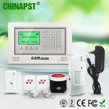 GSM auto dial High Quality Business/ Home Alarm Systems house security guarding Usage home Security alarm PST-GA104TCQ