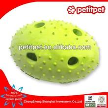 2015 hot sell dog bone TPR dog toys/hard rubber pit ball dog toys