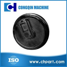 Excavator and Bulldozer spare parts front idler for PC200-7