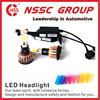 NSSC New Product 9-32v 24w 2400lm Mini LED Moto Headlight Car LED Lights Car Accessories