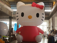 CILE 2015 giant inflatable lovely kitty cat cartoon