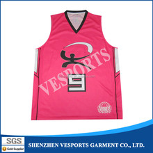 Cheap american Reversible blank kids sublimation basketball jerseys for school