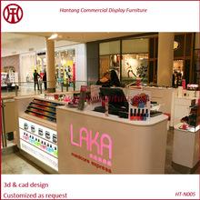 baking paint.Nail kiosk,nail bar furniture,nail salon furniture 5x3m in the mall